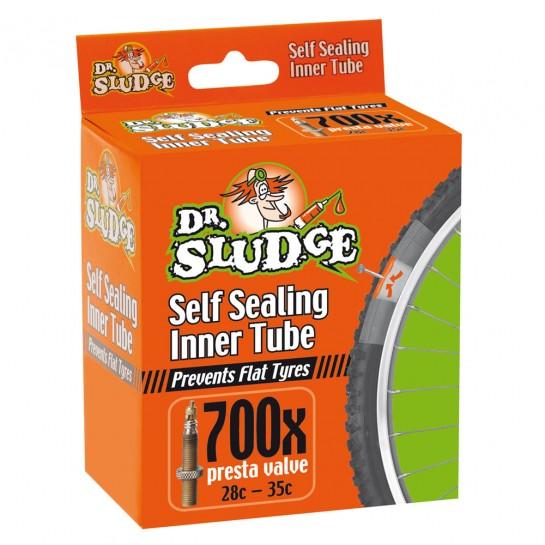 Weldtite duša s galuskovým ventilom Dr.Sludge 700 x 28c - 35c Presta Inner Tube