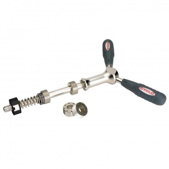 Nástroj na zafrézovanie stredového osadenia Cyclo Tools pre osadenie stredových misiek
