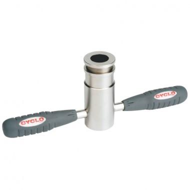 Nástroj na zafrézovanie kónusu dosedacej plochy stľpiku vidlice Cyclo Tools