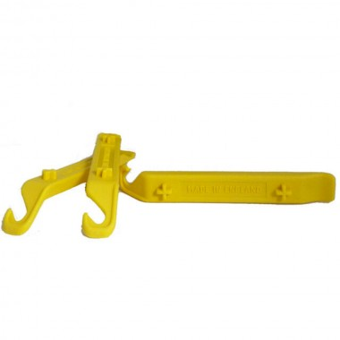 WELDTITE Sada 3ks montážna páčka Yellow Glass Nylon Reinforced Tyre Levers
