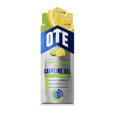OTE Energetický gél s kofeínom - Citrón a limetka