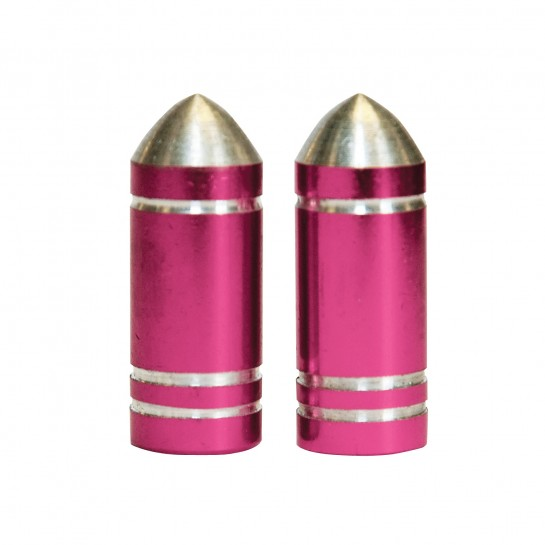 WELDTITE čiapočka na auto ventil Pink Bullet 2ks
