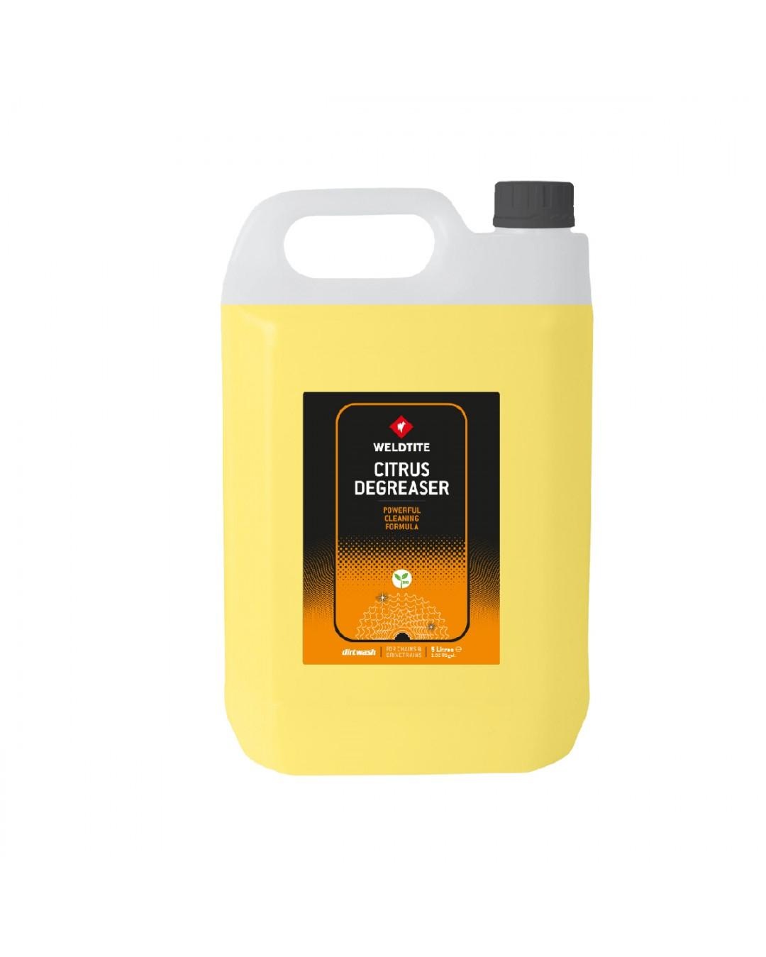 WELDTITE Odmašťovač Dirtwash Citrus Degreaser (5 litrov)